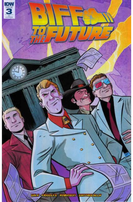 Back to the Future Biff to the Future #3 Cover RI [IDW Comic]