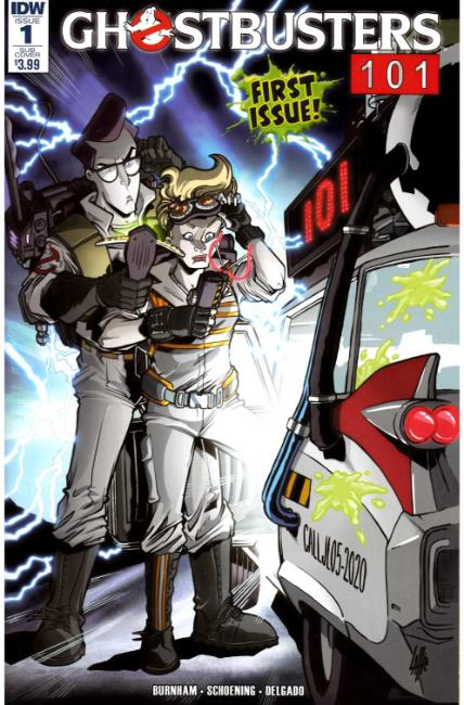 Ghostbusters 101 #1 Subscription Cover A [IDW Comic] THUMBNAIL