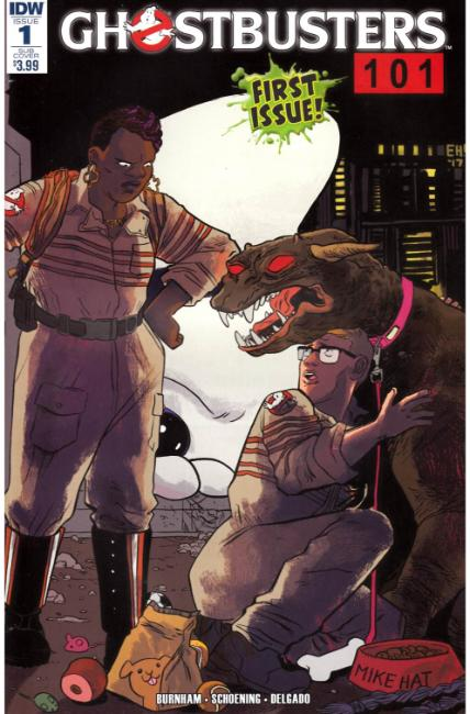 Ghostbusters 101 #1 Subscription Cover B [IDW Comic] THUMBNAIL