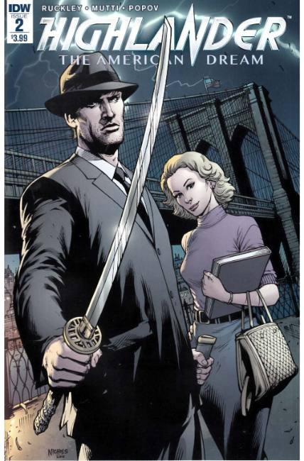 Highlander the American Dream #2 [IDW Comic]
