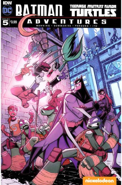 Batman TMNT Adventures #5 [IDW Comic]