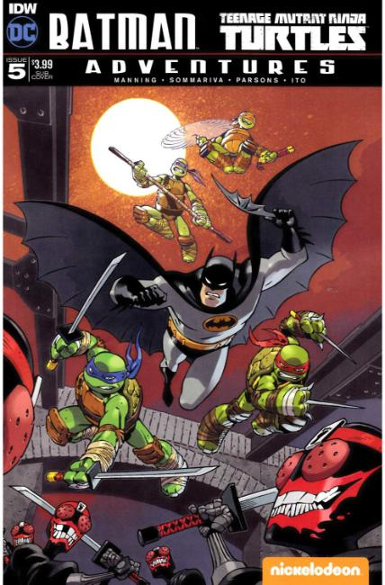 Batman TMNT Adventures #5 Subscription Cover [IDW Comic] THUMBNAIL