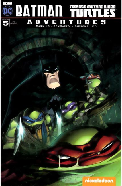 Batman TMNT Adventures #5 Cover RI [IDW Comic] LARGE