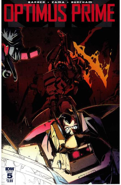 Optimus Prime #5 [IDW Comic]