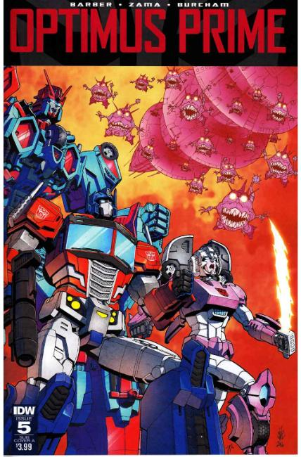 Optimus Prime #5 Subscription Cover A [IDW Comic] THUMBNAIL