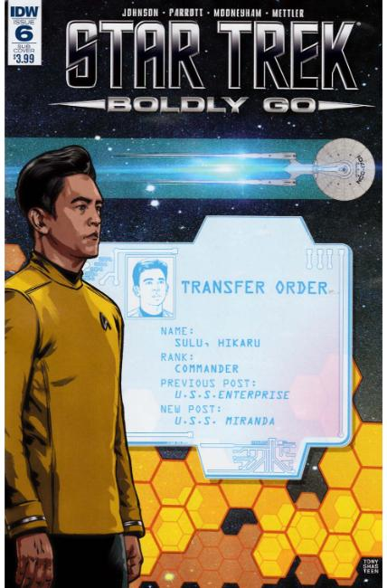 Star Trek Boldly Go #6 Subscription Cover [IDW Comic] THUMBNAIL