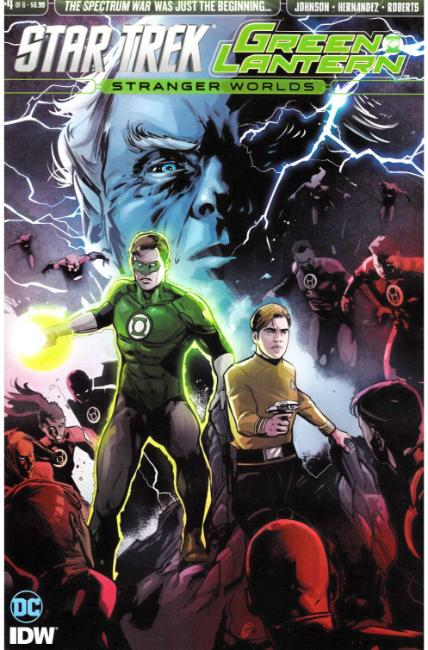 Star Trek Green Lantern Vol 2 #4 [IDW Comic] THUMBNAIL