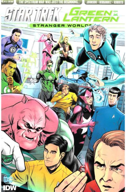 Star Trek Green Lantern Vol 2 #4 Subscription Cover [IDW Comic] THUMBNAIL