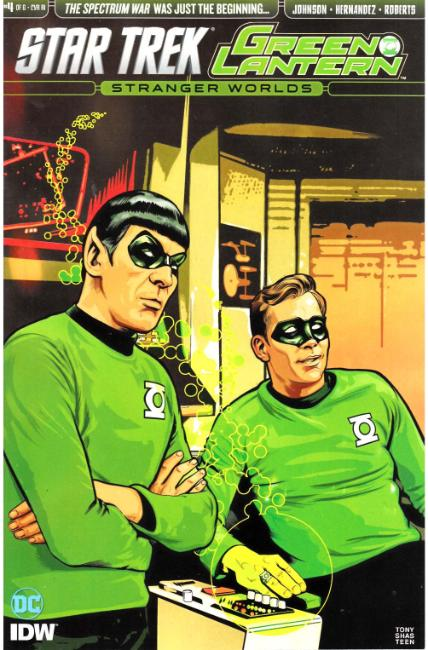 Star Trek Green Lantern Vol 2 #4 Cover RI [IDW Comic] THUMBNAIL