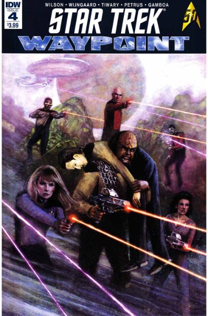 Star Trek Waypoint #4 [IDW Comic] LARGE