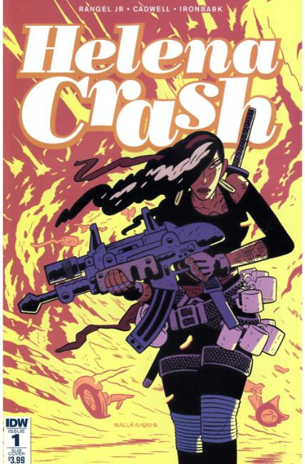 Helena Crash #1 Subscription Cover [IDW Comic] LARGE