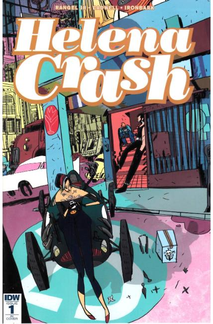 Helena Crash #1 Cover RI [IDW Comic] LARGE