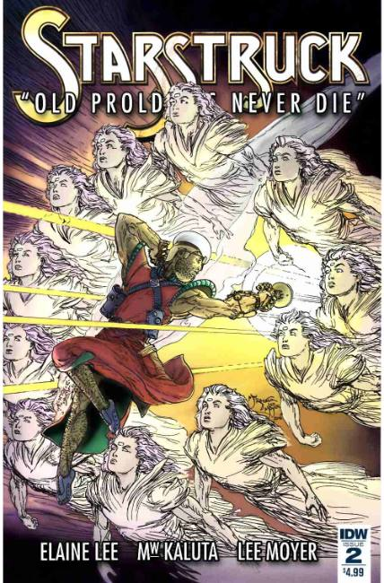 Starstruck Old Proldiers Never Die #2 [IDW Comic] LARGE