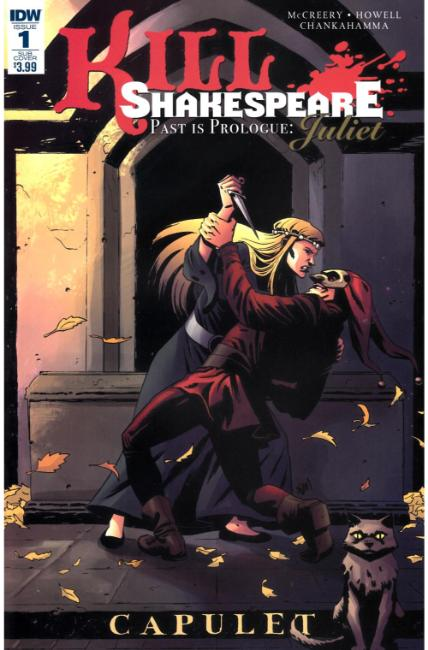 Kill Shakespeare Past Is Prologue Juliet #1 Subscription Cover [IDW Comic] THUMBNAIL