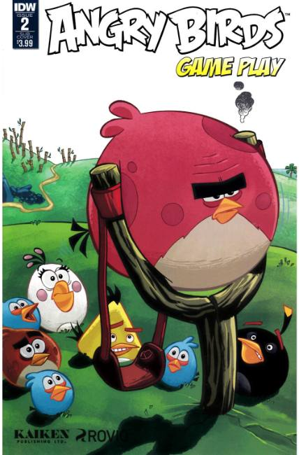 Angry Birds Comics Game Play #2 Subscription Cover [IDW Comic] THUMBNAIL