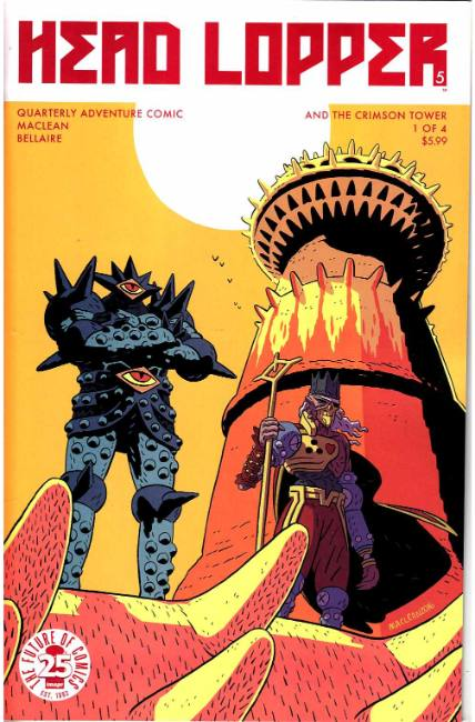 Head Lopper #5 Cover A [Image Comic] THUMBNAIL