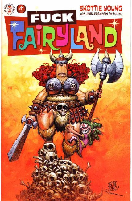 I Hate Fairyland #11 F*ck (Uncensored) Fairyland Variant Cover [Image Comic] THUMBNAIL