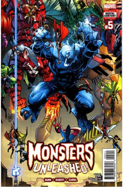 Monsters Unleashed #5 [Marvel Comic]
