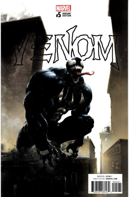 Venom #5 Crain Variant Cover [Marvel Comic]