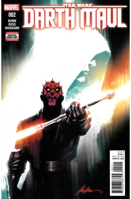 Star Wars Darth Maul #2 [Marvel Comic]