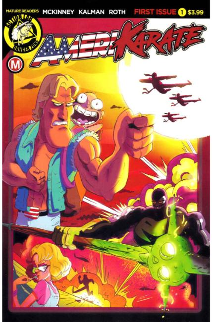 Amerikarate #1 Cover A [Action Lab Comic] THUMBNAIL