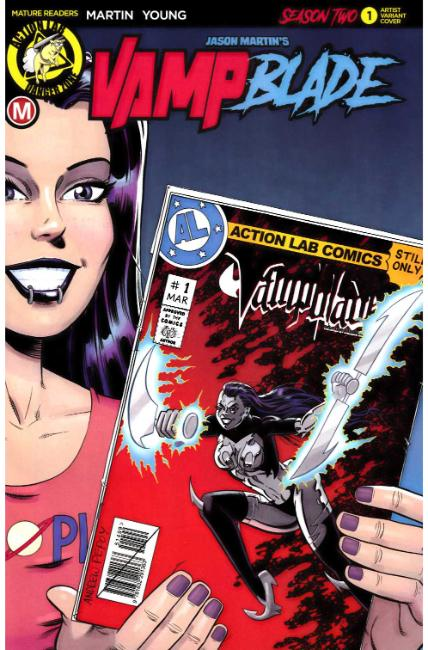 Vampblade Season Two #1 Cover E- Pepoy [Danger Zone Comic] THUMBNAIL