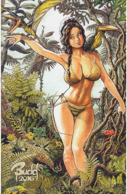 Cavewoman Destination Jungle #1 Cover D- Root [Amryl Comic] THUMBNAIL