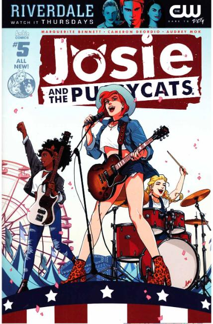 Josie & the Pussycats #5 Cover A [Archie Comic] THUMBNAIL