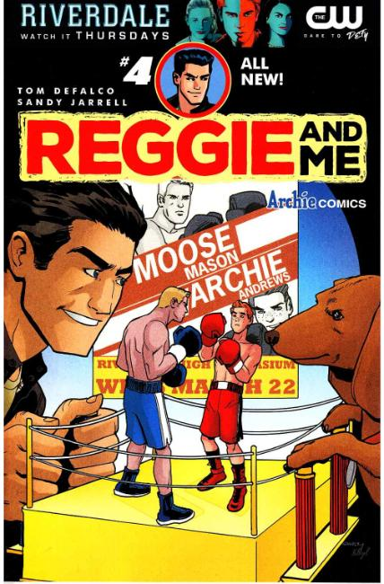 Reggie and Me #4 Cover A [Archie Comic] THUMBNAIL