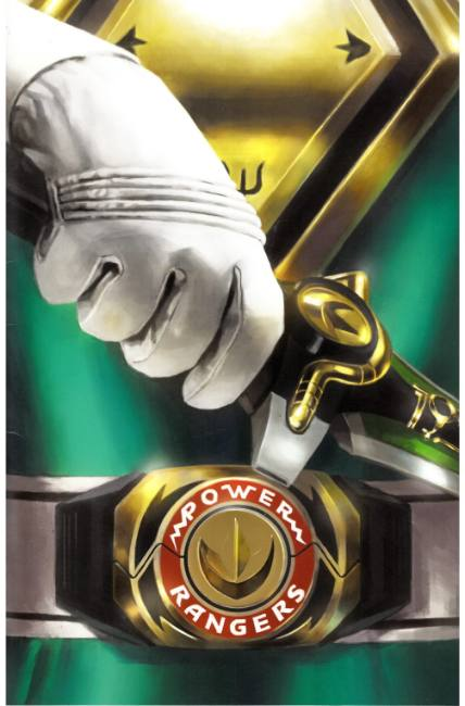 Mighty Morphin Power Rangers #13 Mercado Foil Incentive Cover [Boom Comic]