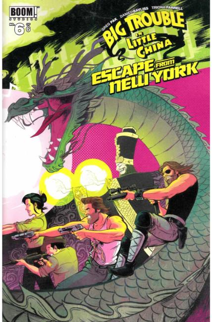 Big Trouble Little China Escape New York #6 [Boom Comic] THUMBNAIL