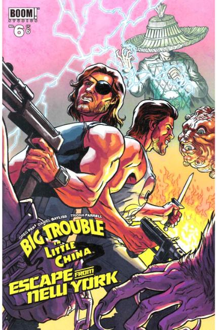 Big Trouble Little China Escape New York #6 Subscription Cover [Boom Comic]