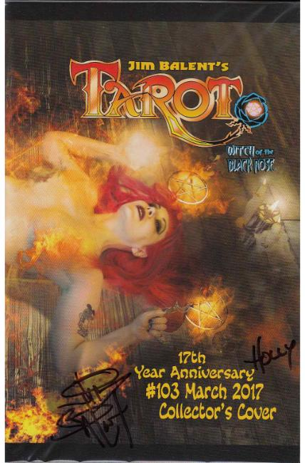 Tarot Witch of the Black Rose #103 17th Anniversary Photo Cover [Broadsword Comic] THUMBNAIL