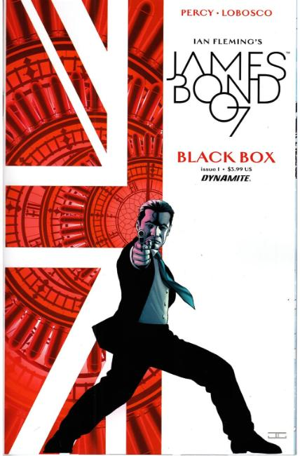 James Bond #1 Cover A- Cassaday [Dynamite Comic]_THUMBNAIL