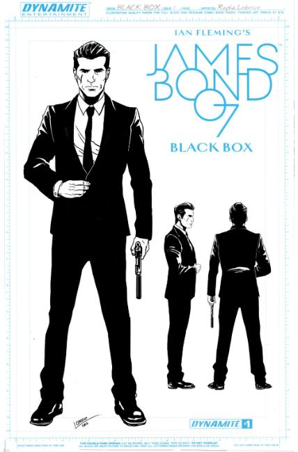 James Bond #1 Cover F- Lobosco Design Cover [Dynamite Comic] THUMBNAIL