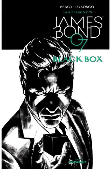 James Bond #1 Cover G- Masters B&W Variant [Dynamite Comic] THUMBNAIL