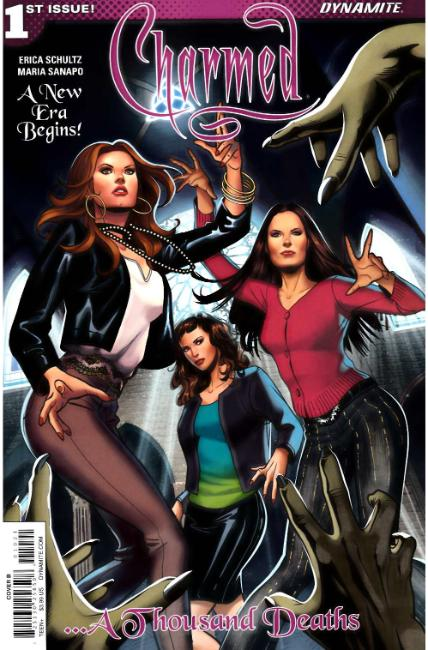 Charmed #1 Cover B [Dynamite Comic]