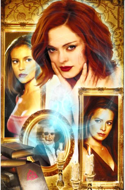 Charmed #1 Cover G- Corroney Virgin Incentive [Dynamite Comic]
