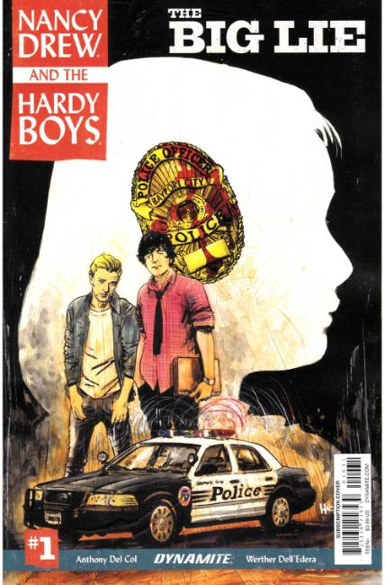 Nancy Drew Hardy Boys #1 Cover C [Dynamite Comic] THUMBNAIL