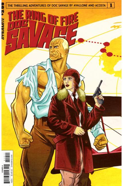 Doc Savage Ring of Fire #1 Cover A [Dynamite Comic]