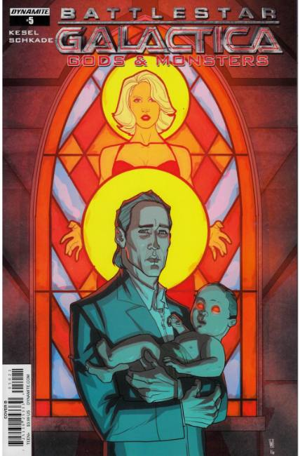 Battlestar Galactica Gods & Monsters #5 Cover B [Dynamite Comic] THUMBNAIL