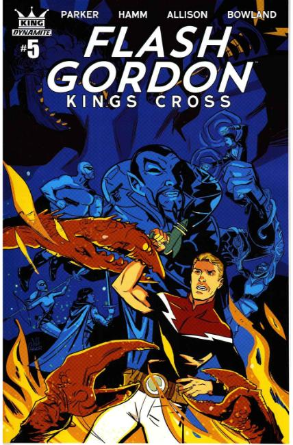 Flash Gordon Kings Cross #5 Cover B- Parker [Dynamite Comic]_THUMBNAIL