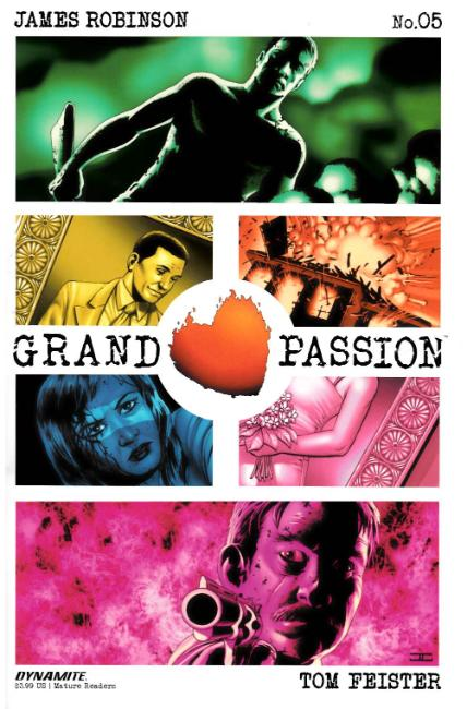 Grand Passion #5 [Dynamite Comic] THUMBNAIL