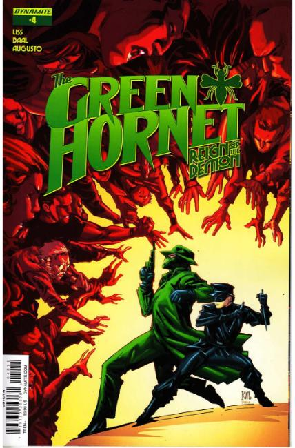 Green Hornet Reign of Demon #4 Cover A- Lashley [Dynamite Comic] THUMBNAIL