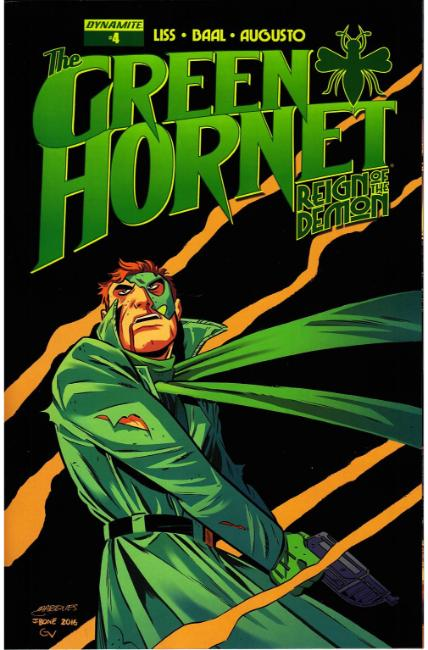 Green Hornet Reign of Demon #4 Cover B- Marques [Dynamite Comic] THUMBNAIL