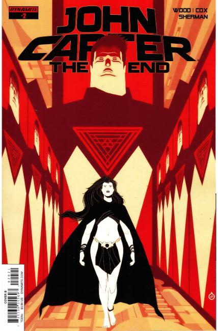 John Carter the End #2 Cover B [Dynamite Comic] THUMBNAIL