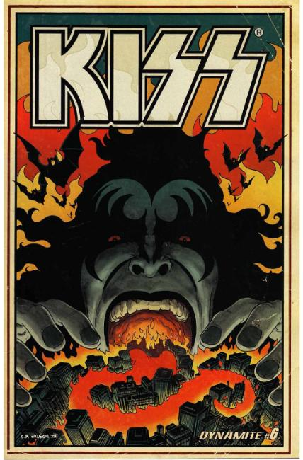 Kiss #6 Cover B [Dynamite Comic] THUMBNAIL