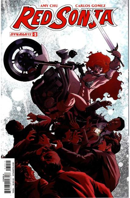 Red Sonja #3 Cover A [Dynamite Comic]