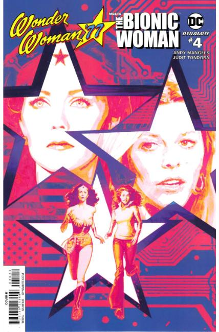 Wonder Woman 77 Bionic Woman #4 Cover B [Dynamite Comic] LARGE