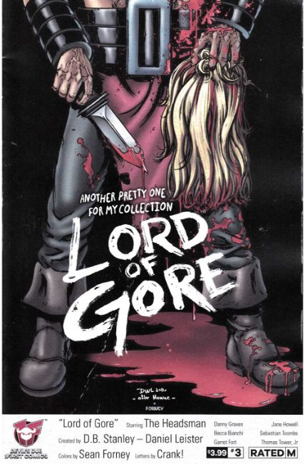 Lord of Gore #3 Cover A [Devils Due Comic] LARGE